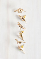 MuchTooMuch Dino Doubt About It Earring Set