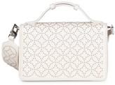 Alaia Franca Studded Leather Shoulder Bag