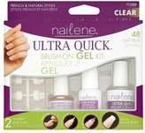 Nailene Gel Fake Nail Tips Ultra Quick Brush On