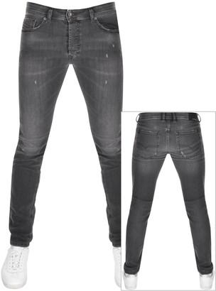 Diesel Sleenker 069JR Skinny Fit Jeans Black