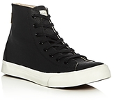 Saturdays NYC Mike Waxed Canvas High Top Sneakers