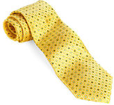 Black Brown 1826 Classic Fit Dot Printed Silk Tie