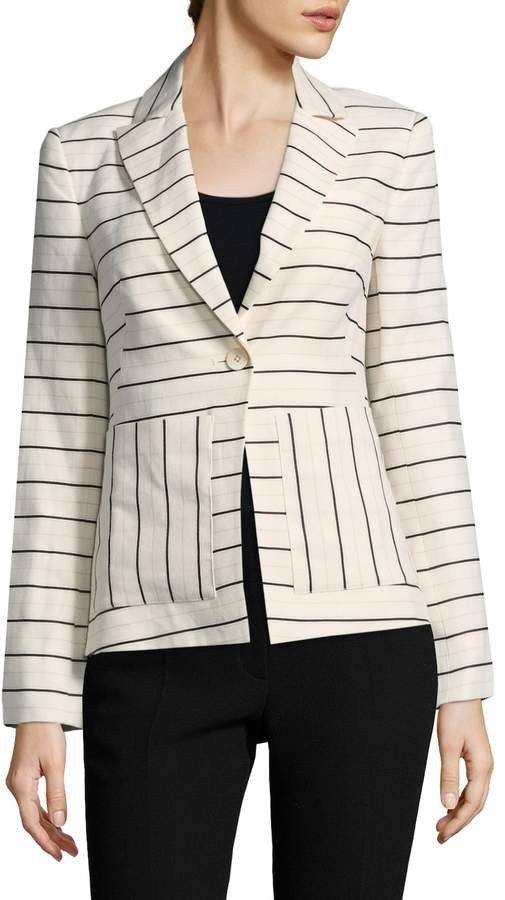 Derek Lam 10 Crosby Women's Single Button Blazer
