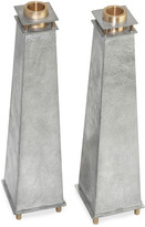 N. Tall Tapered Candle Holders, Set of 2