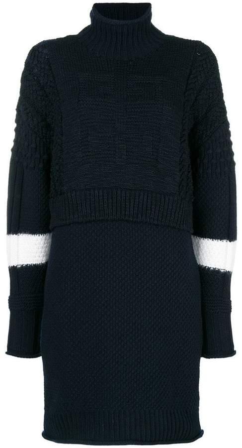 Givenchy layered knit dress