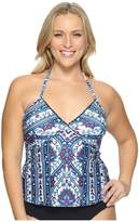 Becca by Rebecca Virtue Plus Size Inspired Tankini Top