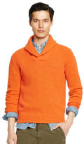 Ralph Lauren Wool-angora Shawl Sweater