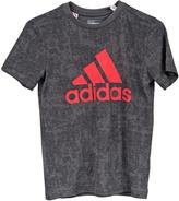 adidas Boys Geometric Graphic T-Shirt