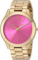 Michael Kors Women's Slim Runway Gold-Tone Watch MK3264