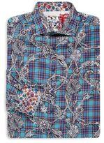 Robert Graham Big & Tall Irish Guards Button-Down Shirt