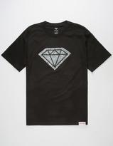 Diamond Supply Co. Photo Rock Logo Mens T-Shirt