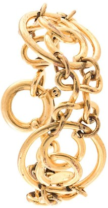 Chanel Pre Owned CC chain bracelet