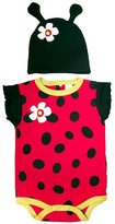 Sozo Ladybug Bodysuit and Cap Set