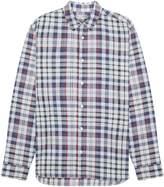 Jaeger Men's Cotton Melange Check Shirt
