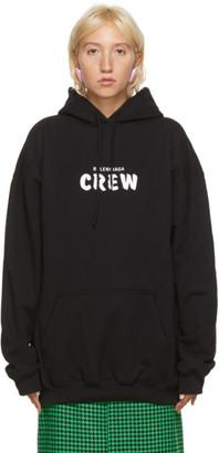 Balenciaga Black Crew Hoodie