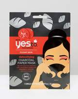 YES TO Yes To Tomatoes Charcoal Detoxifying Paper Mask