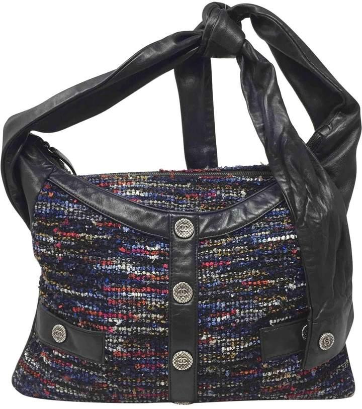 Chanel Girl tweed handbag