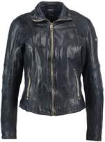 Gipsy ELYA Leather jacket blue