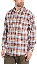 Wrangler Men's Foreman Plaid Work Shirt