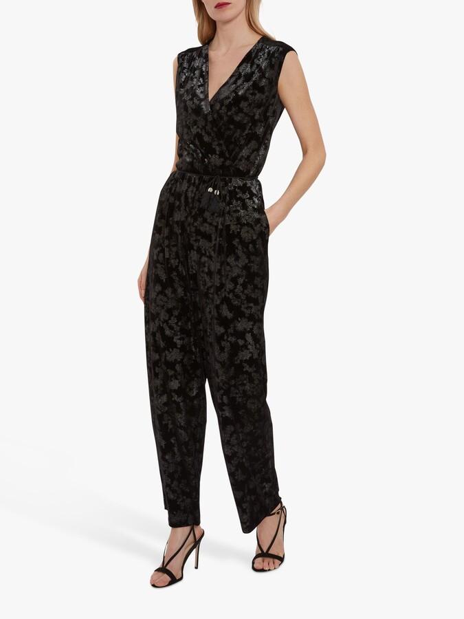 Thumbnail for your product : Gina Bacconi Elzina Velvet Jumpsuit