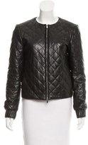 Diane von Furstenberg Leather Delilah Jacket