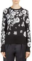 Kenzo Floral Intarsia Crewneck Sweater
