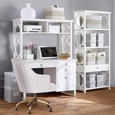 Pottery Barn Teen Elsie Single Pedestal Desk & Hutch Set