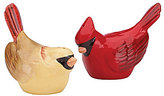 Lenox Winter Greetings Cardinals Salt & Pepper Shaker Set