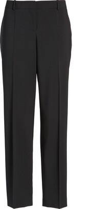 HUGO BOSS Tiluna Slim Stretch Wool Suit Trousers