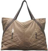 Sondra Roberts Quilted Nylon Weekender