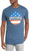 Rip Curl Men's Old Glory Graphic T-Shirt