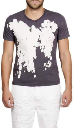 Cult of Individuality Print V-Neck T-Shirt