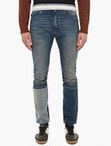Maison Margiela Blue Patchwork Denim Jeans