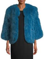 Yves Salomon Women's Dinde Feather Jacket