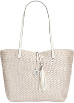 INC International Concepts La Izla Straw Tote, Only at Macy's