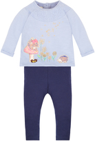 Monsoon Baby Olivia Squirrel Top and Legging Set