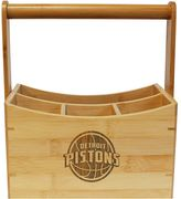 Detroit Pistons Bamboo Utensil Caddy