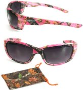 CPS Sport Wrap Pink Camouflage Camo Women Ladies Female Sunglasses Outdoor Glasses(Color: )
