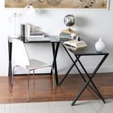 Walker Edison Furniture Company X-Frame Black Desk