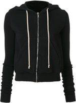Rick Owens zipped hoodie - women - Cotton - XS