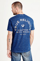True Religion Indigo Drop Shoulder Mens Tee