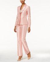 Le Suit Shimmer Pantsuit