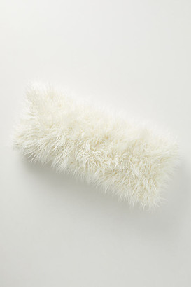 Anthropologie Makura Faux Fur Pillow By in White Size 20 in sq