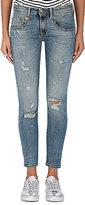 R 13 Women's Boy Skinny Distressed Jeans