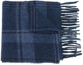 Polo Ralph Lauren checked fringed scarf - men - Polyamide/Virgin Wool - One Size