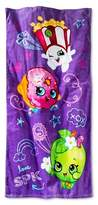 Shopkins Moose Beach Towel (28x58 inches) Purple - Shopkins®