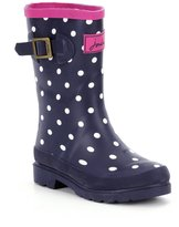 Joules Girls' Welly Waterproof Boot