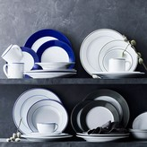 Apilco Tradition Blue-Banded Porcelain Dinnerware Place Settings