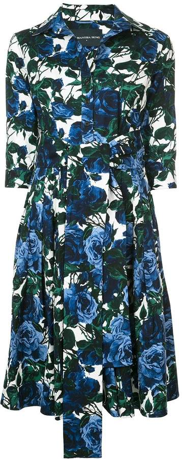 Samantha Sung printed mini dress