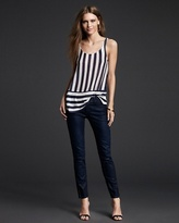Juicy Couture Pattie Stripe Banded Tank